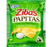 Ziba`s Papitas Crema y Especias