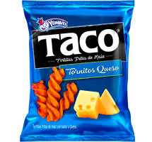 Taco Tornitos Queso