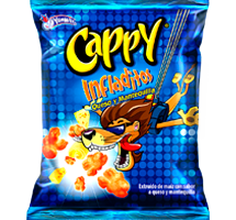 Cappy Infladitos Queso y Mantequilla