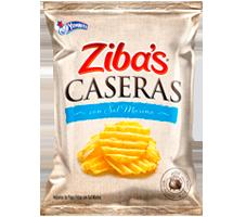 Ziba's Caseras con Sal Marina