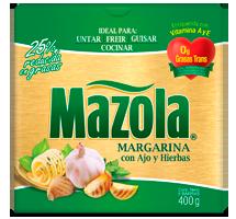 Margarina Mazola Ajo y Hierbas