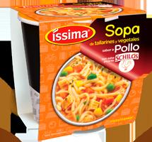 Sopa de Pollo con salsa picante Schilo's