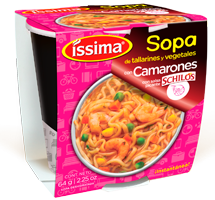 Sopa Camarón con salsa picante Schilo's