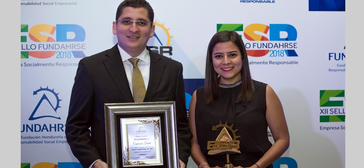 Dinant recibe por décimo año, el sello de Empresa Socialmente Responsable
