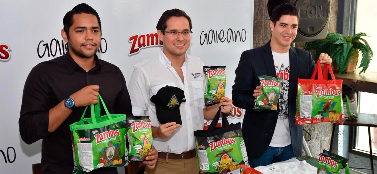 Zambos y Galeano  se unen de nuevo para celebrar el mes patrio