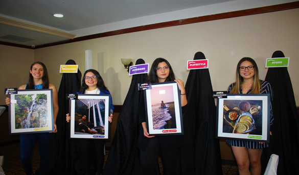 Yummies entrega premios a los ganadores de la cuarta edición de ZambosGram