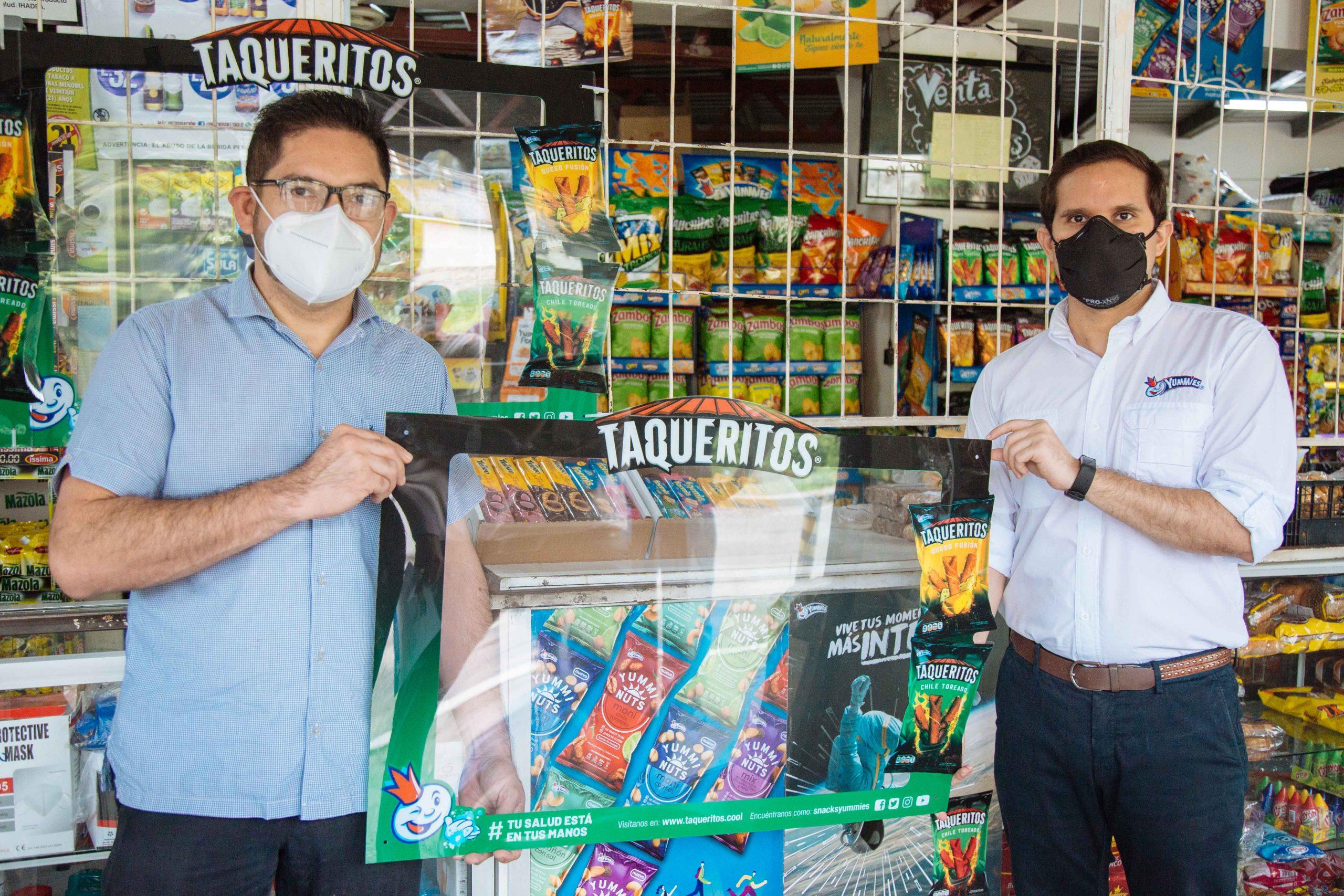Taqueritos instala Marcos Protectores en Pulperías y Mercaditos