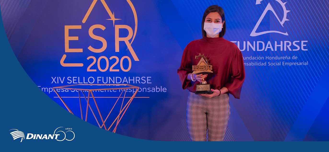 Dinant Recibe Prestigioso Premio de ESR Por 12º Año Consecutivo